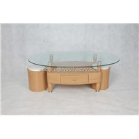 Wholesale MDF Glass Coffee Table
