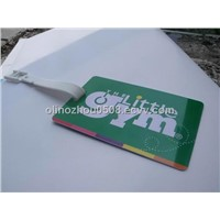 Wholesale Punched PVC Hanging Card or Hanging Tag Design