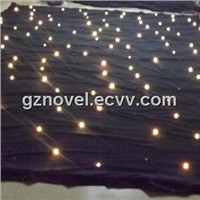 LED Star Cloth Curtain Light Mixed RGB
