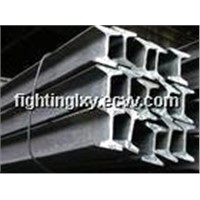 steel rail and fitiings