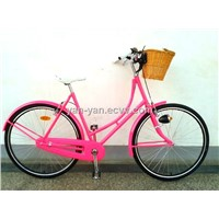 "Pink dutch city bicycle/Lady city bikes/28""omafiets"
