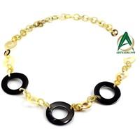 Organic Horn Neck lace,Horn Necklace, Horn Chain, Horn link, Buffalo Horn Accessories