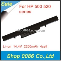 14.4V 2200mAh 4cell Laptop battery for HP 500 / HP 520