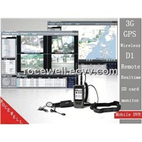3G GPS Mini Wireless Remote Monitor Hand held Portable Track Handy Mobile DVR (RC-8001HDB)