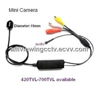700tv Line High Resolution Mini Spy Video Camera, Sony Effio Pinhole Spy Camera With Audio