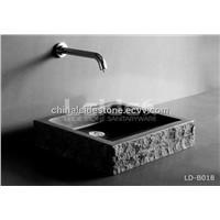 Absolute black bathroom sink LD-B018