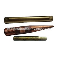 CNC Machining Copper Parts Tubes / CNC Auto Lathe Parts