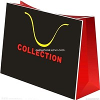 Custom Ultra high quality laminated paper bags/ gift paper bag/ shopping paper bag