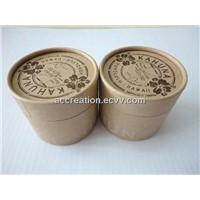 Cylindrical Gift Box / Tea Box