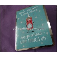 Greeting Card, Color Card