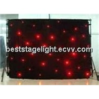 LED Star Curtain RGB/ RGB LED Star Cloth Color Change/ Star Cloth RGB LED Curtain