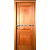 Solid Panel Wood Interior Hotel Room Door