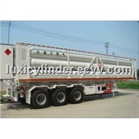 Sell CNG tube trailers, 8 tubes, 25Mpa