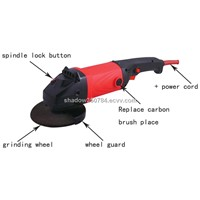 125mm new design Angle Grinder with heavy duty
