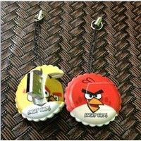 2012 New Style Card Reader ! Angry Bird Shape Micro SD Card Reader