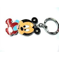 2012 Beautiful Mickey PVC Key Chain