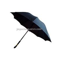 "23"" Unbreakable Walking Stick Umbrella"