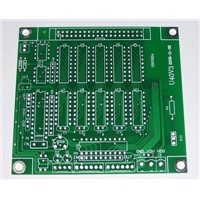 2-layer PCB Board with Gold Immersion, for Industrial Control