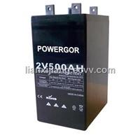 2v 500 Ah AGM battery