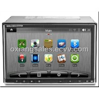 6.95''  Touch Screen Car PC Built in GPS & Android 2.3 System & Windows CE6.0 OS system