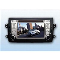 7 inch HD dvd player with remote control and bluetooth support GPS for SUZUKI SX4(RAS02)