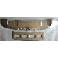 AUDI Q5 Front/Rear Bumper Guard(Stainless steel)
