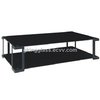 Black painted glass Panel / Gas Cooker Glass / 10-day delivery