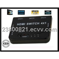 CABLES  HDMI SWITCH 4*1