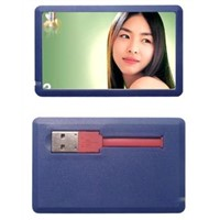 Cable Credit Card USB Flash Drive with Full Color Printing