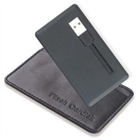 Cable Style Credit Card USB Flash Drive