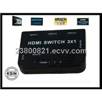Cables hdmi switch 3*1