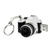 Camera Shape Customize USB With key Chain - 1GB 2GB 8GB 16GB