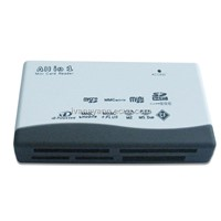 China Hotsale USB all in one card reader, usb2.0 card reader,SD/MMC/CF/MS/M2/MICRO SD/XD card reader