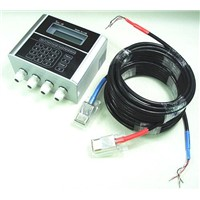 Clamp-on ultrasonic flowmeter
