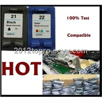 Compatible ink cartridge Pack HP21/C9351AN black ink cartridge /HP22/C9352AN color ink cartridge