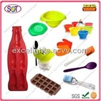 Complete silicone kitchenware sets manufacturer