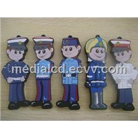 Customize PVC USB Flash Drive.Usb Memory ,Usb Disk.