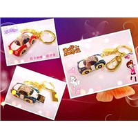 Different Car USB/ Car Diamond USB with Key Chain