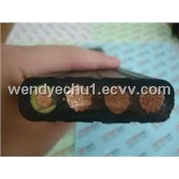 Flat Elevator Cable / Crane Cable