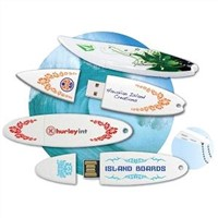 Full Color Printing Surfboard USB Flash Drive  1GB 2GB 4GB 8GB 16GB