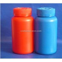 HDPE plastic bottle for health care products with Childproof cap