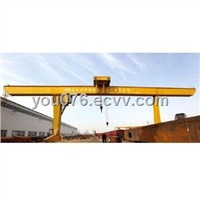 L Type Single-beam Gantry Crane with Hook and Lifting Capacity
