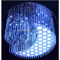 Modern crystal ceiling lamps ,crystal glass ceiling lamp,6008-1