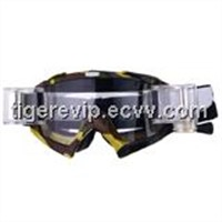 Motorcycle goggles with soft TPU/TPE frame TG-M916A-10