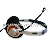 Multimedia Headset with Microphone