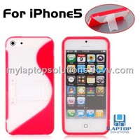 Newest S Line Plastic Sand Case for iPhone 5