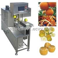 PLC control orange peeling machine 0086-13526735822