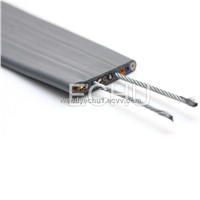 PVC Flexible Cable with 2 Steel Support for Elevator