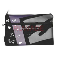Rectangular style neoprene pencil case -027