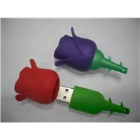 Rose Flower USB Flash Drives